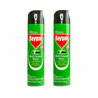 Baygon Green Multi Insect Killer 600ML X 2