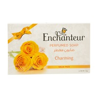 Enchanteur Perfumed Soap Charming 3x125 g