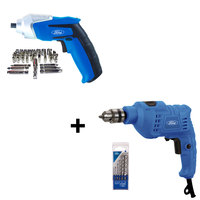 Ford Drill With 5Pcs Bit And Screw Driver 3.6+44Pcs Accessories