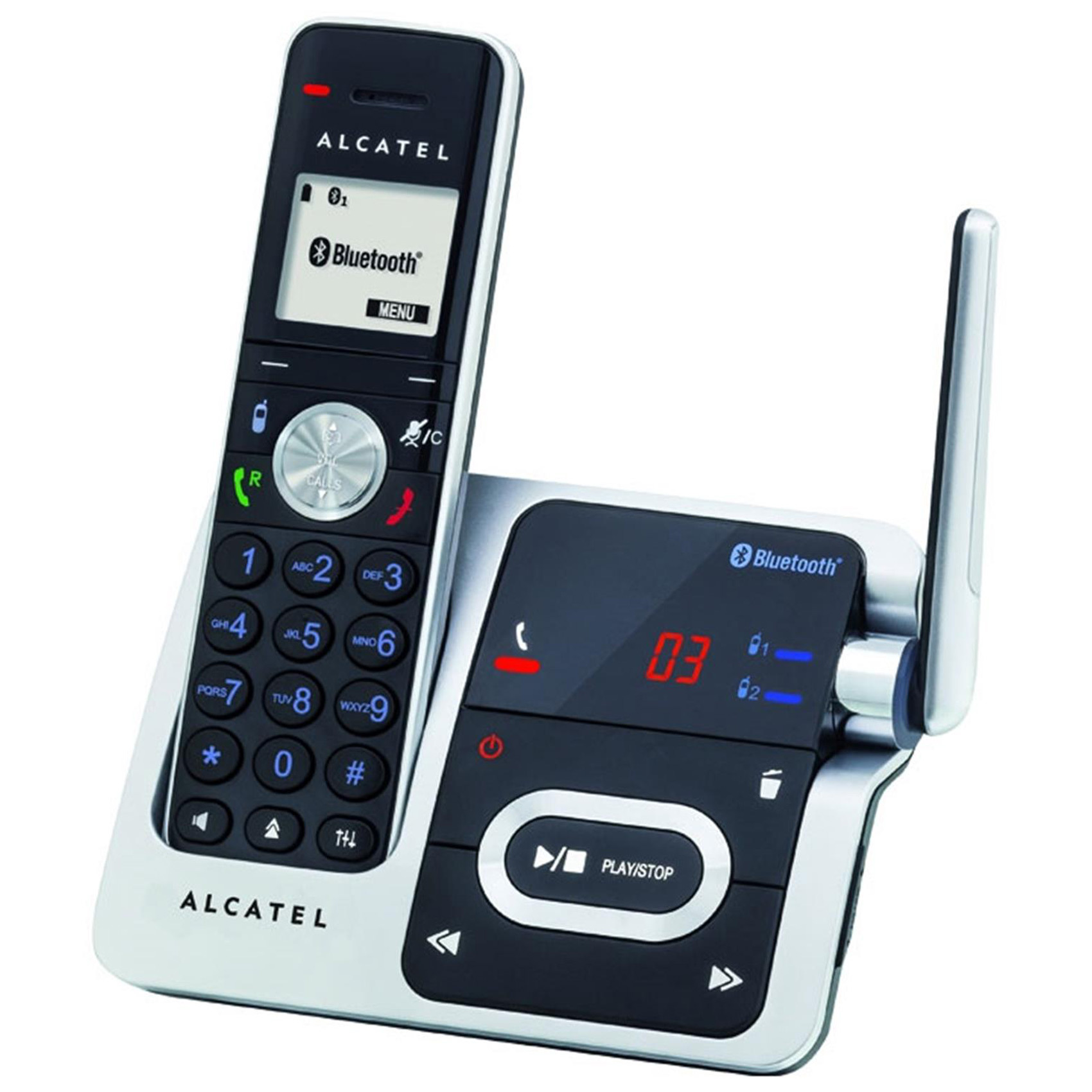 ALCATEL XP1050 B/T DECT PHONE