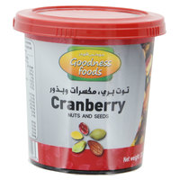 Goodness Foods Nuts & Seeds Cranberry 400g