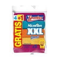 Spontex Microfibre XXL 4 + 1Free