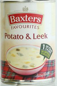 Baxters Favourites Potato & Leek Soup 400 g