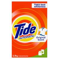 Tide Automatic Laundry Powder Detergent Original Scent 1.5kg