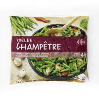 Carrefour Mix Vegetables Fried Country 1 Kg