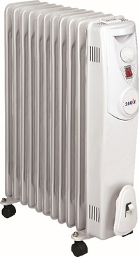 SAMIX Heater Oil Radiator SNK-52 2000 Watt White