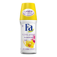 Fa Floral Protect Orchid & Viola Roll On 50ml