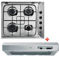 Indesit Built-In Gas Hob PIM640+Hood 161.2