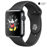 Apple Watch Series-2 42mm Space Black Stainless Steel Case With Space Black Sport Band