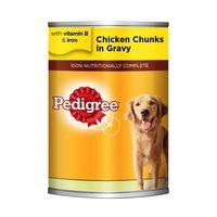 Pedigree Chicken Chunks In Gravy Dog Food 400g