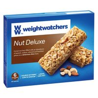 Weight Watchers Nut Deluxe Bars 136g