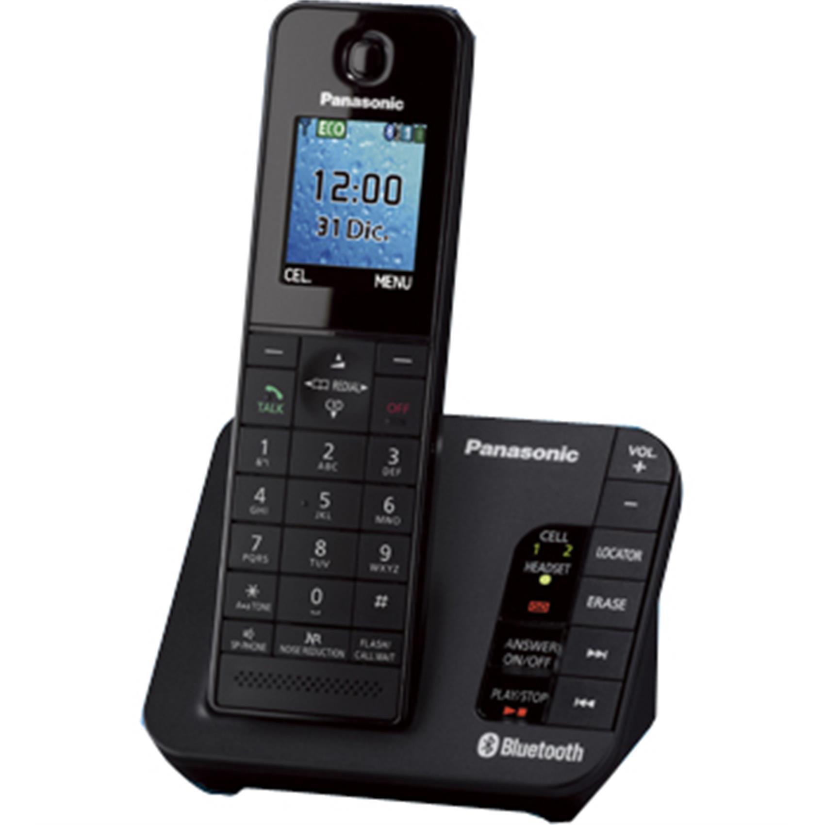 PANASONIC KX-TGH260UEB DECT PHON BK