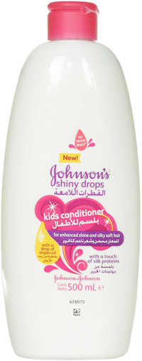 Johnson's Shiny Drops Kids Conditioner 500ml