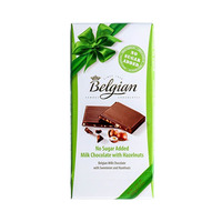 Belgian Chocolate No Sugar Added Hazelnut 100GR