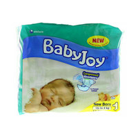 Babyjoy Diapers Newborn Size 1 Up to 4kg 17 Counts