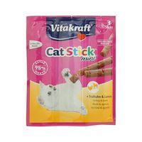 Vitakraft Cat Stick Mini 3 Stick Turkey & Lamb 18g