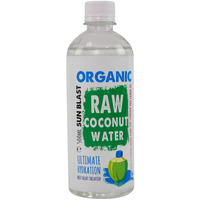 Sunblast Organic Raw Coconut Water 500ml