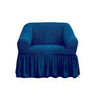 Tendance's Sofa Cover 1 Seater Blue