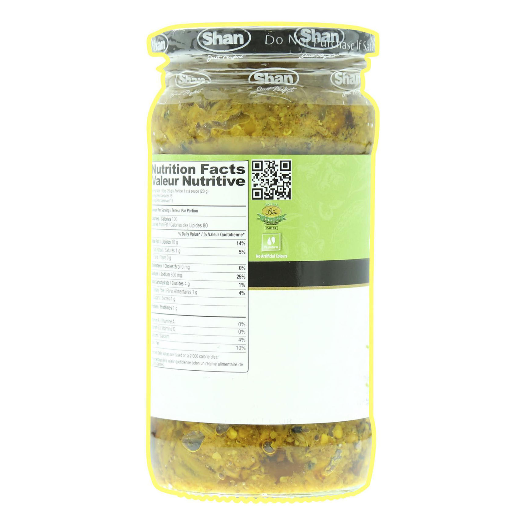 SHAN CHILLI PICKLE 320G