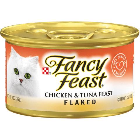 Purina-Fancy-Feast-Flaked-Chicken-&-Tuna-Wet-Cat-Food-85g