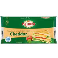 President Sandwich Cheddar 400g