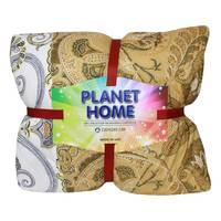 Planet Home Microfiber Comforter 220X240 Light Brown