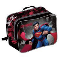 Super Man - Lunch Bag Bk-Rd
