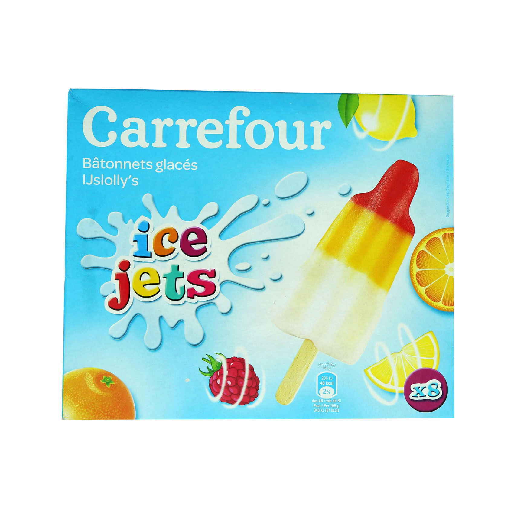 CRF KID STICK ICE CREAM 60MLX8