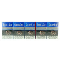 Golden Gate Blue 200/20 Cigarettes(Forbidden Under 18 Years Old)