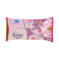 Cool & Cool Selected Perfumed Facial Tissue Softpack 2 Ply 100's