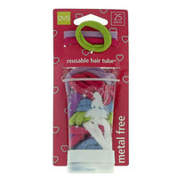 Qvs Reusable Hair Tubes 25 Pieces