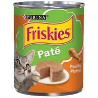 Purina Friskies Wet Can Pate Poultry Platter Cat Food 369g