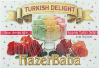 Hazer Baba Assorted Turkish Delight 250g