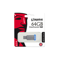 Kingston Data Traveler DT50 USB 3.0 64GB Flash Drive (Blue)