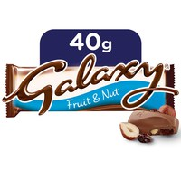 Galaxy® Fruit & Nut Chocolate Bar 40g