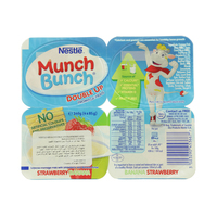 Nestle Munch Bunch Double Up Strawberry & Banana 85g x4