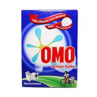 Omo Active Auto Detergent Powder 3KG +Comfort Blue 1L Free