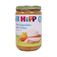 Hipp Fine Vegetables & Turkey From 12 Months 220GR