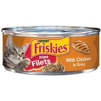 Purina Friskies Prime Filets Chicken Wet Cat Food 156g