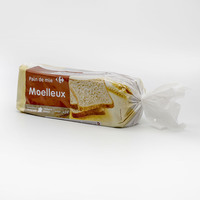 Carrefour wholemeal sandwich bread 500 g