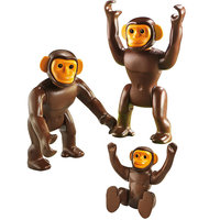 Playmobil Chimpanzee Family