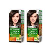 Garnier Color Hair Brown Gray No.4.1 2 Pieces