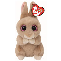 Beanie Boos Bunny Ginger Brown 5In