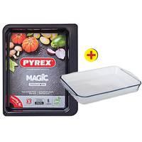 Pyrex Magic Tray 40 Cm + Roaster 39 Cm