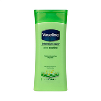 Vaseline Intensive Care Aloe Smooth Heales and Soothes Dry Skin 400ML
