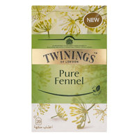 Twinings Pure Fennel 20 Tea Bags