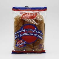 فونتي خبز ساندويتش صب بالسمسم جامبو 3 حبات - 375 جرام