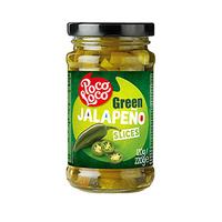 Poco Loco Jalapeno Slices Hot Green 220GR