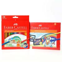Faber-Castell Color Pencil 24 + Activity Book B5
