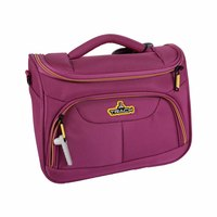 Track Vanity Hand Bag Size 12 Inch Pink